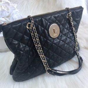 DKNY— Quilted Leather Shoulder Purse